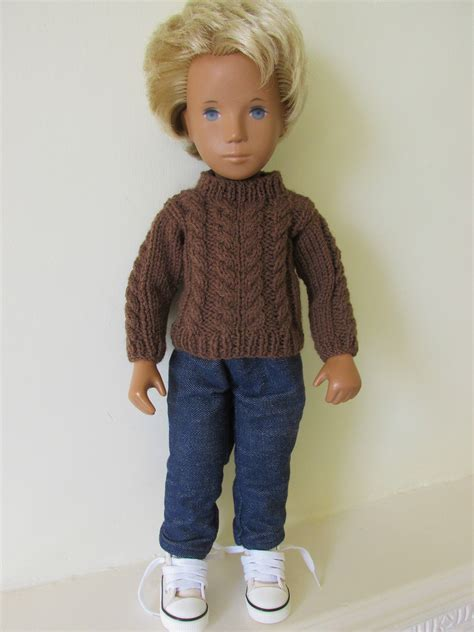 knit sweater pattern straight needles knitting pattern for cable knit sweater for sasha doll
