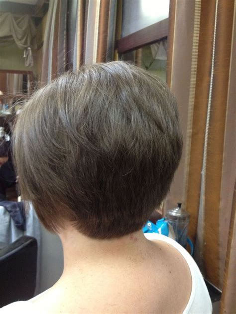hair cut back shorter than front short hair cut the back view do s i did hair gallery
