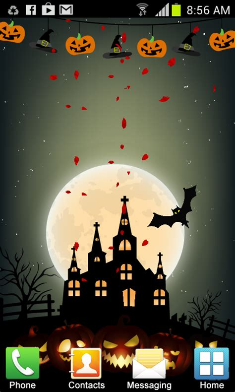 wallpaper android halloween halloween live wallpaper new free apk android app