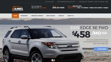 toyota cars website 11 car sales websites created with