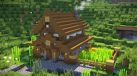 how to build a small home minecraft how to build a small modern house tutorial