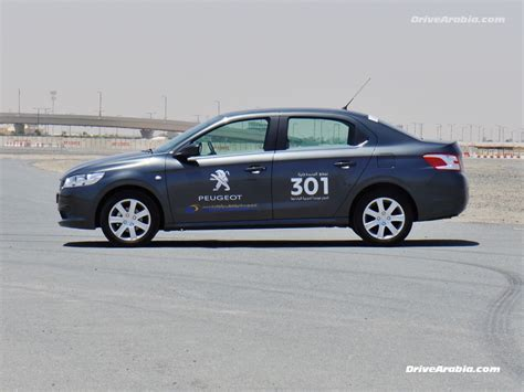 peugeot dubai drive 2013 peugeot 301 in the uae drive arabia
