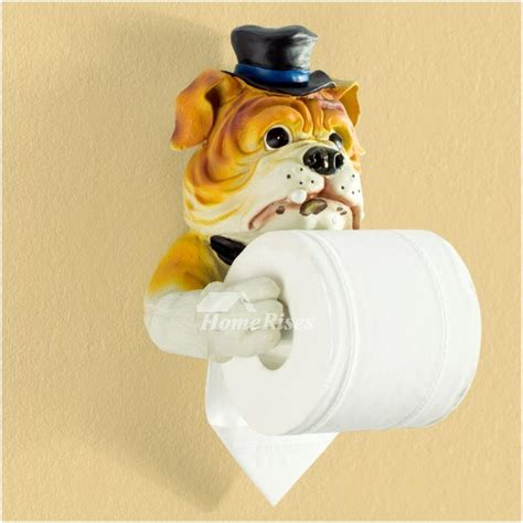 dog toilet paper holder unusual funny cute wall mounted dog toilet paper holder