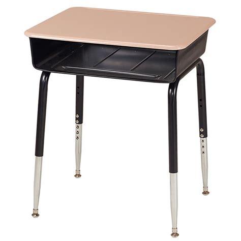 allied plastics choice open front desk w solid plastic