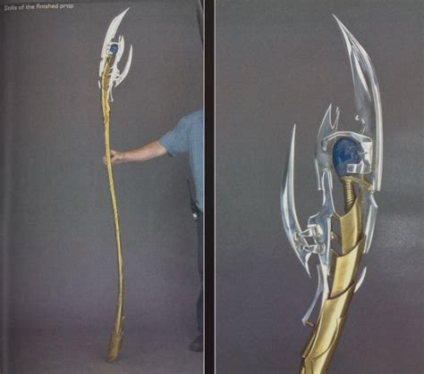 How To Make A Scepter Out Of Paper - loki s sceptor staff from the