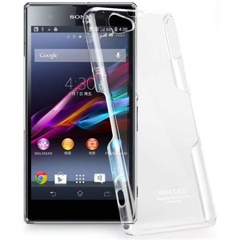 Imak Clear Sony Xperia Z Ultra imak 2 ultra thin for sony xperia z1 mini m51w transparent jakartanotebook
