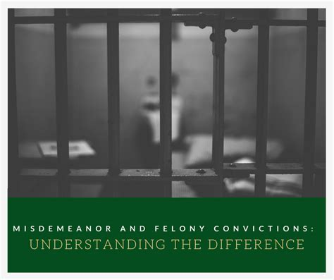 Is A Misdemeanor A Criminal Record Misdemeanor And Felony Convictions Understanding The Difference Alliance Worldwide