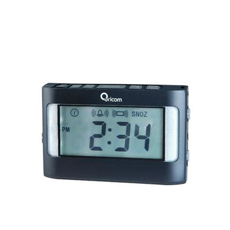 Alarm Clock For Heavy Sleepers by Oricom Vac500 Portable Vibrating Alarm Clock For Heavy