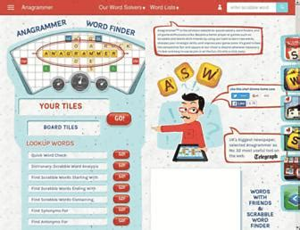 scrabble anagrammer free scrabble grams solver websites allscrabblewords