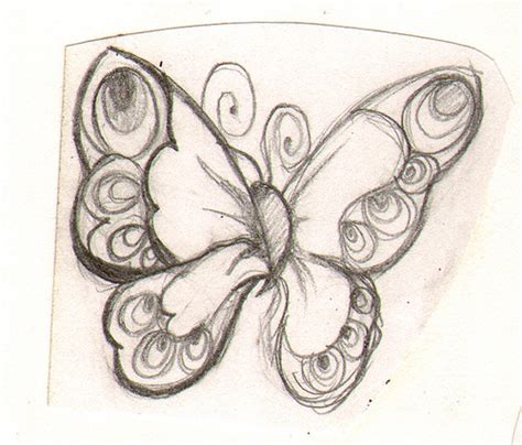 Joyful Butterfly Sketch Flickr Photo Sharing Go Away Big Green Coloring Page