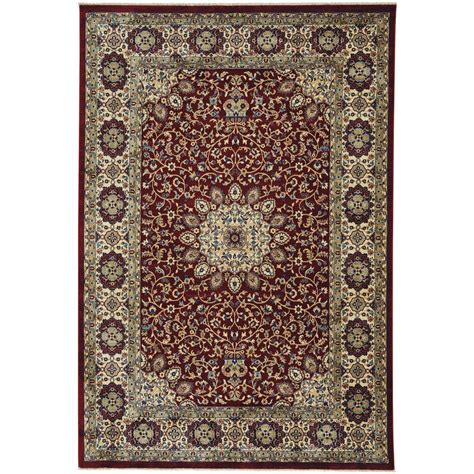 3 foot rugs capel anatolia medallion ruby 3 ft x 5 ft area rug 3802rs03000500550 the home depot