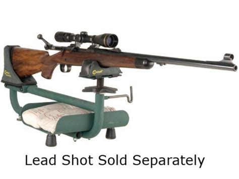 lead sled shooting bench caldwell lead sled rifle shooting rest