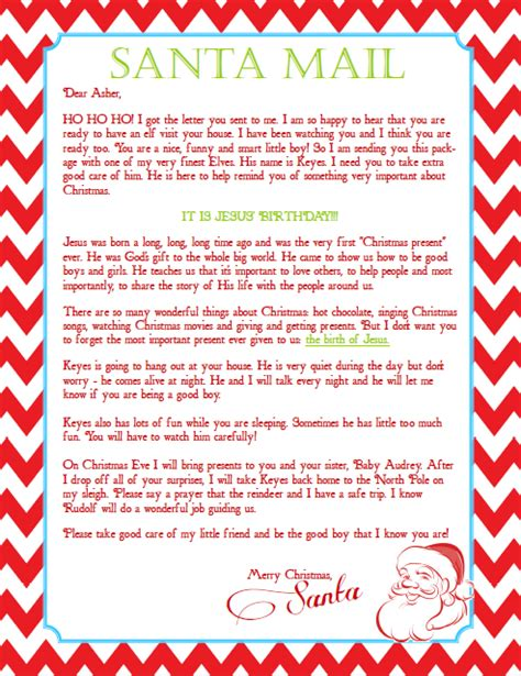 elf on the shelf welcome letter from santa printable the happy life of a mom wife a letter from santa