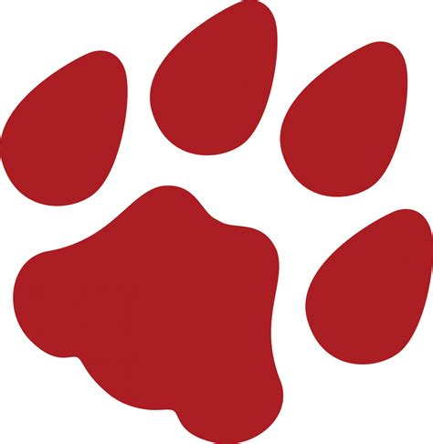 free wildcat paw print download free clip art free clip