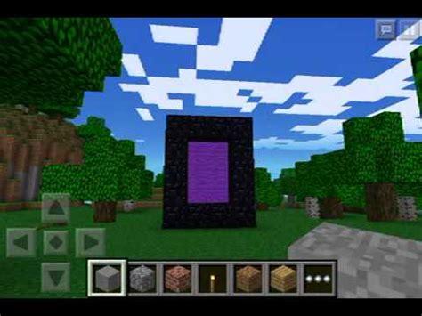 minecraft pe new portal ender portal in minecraft pe youtube