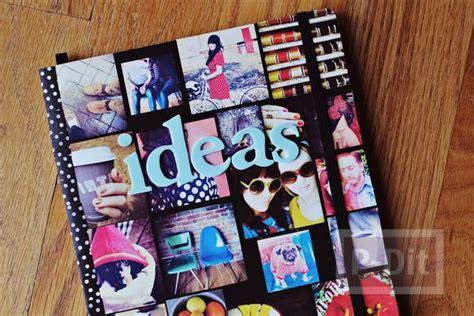 How To Make A Secret Diary Out Of Paper - ตกแต งปกสม ด ด วยร ปภาพส วนต ว diy สไตล ค ณ