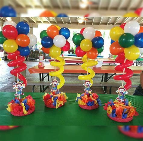 25 best ideas about circus theme centerpieces on