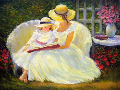 painting for s day september mcgee american impressionist happy mothers