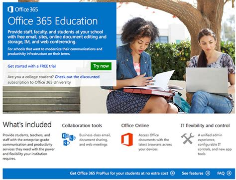 microsoft makes office 365 proplus benefit available for