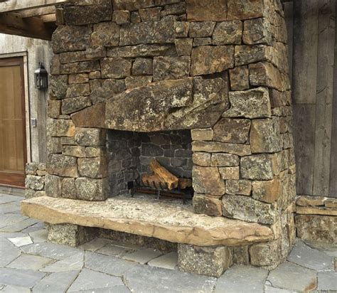Moss Rock Fireplace pin by shannon hays on our house