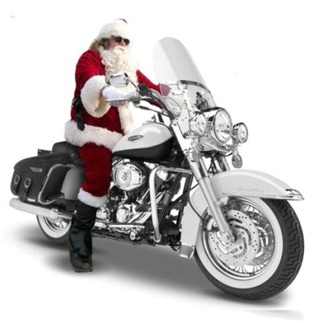 motorcycle santa christmas wallpapers
