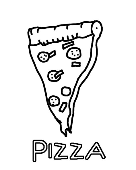 pizza coloring pages preschool make a pizza coloring page topping template grig3 org