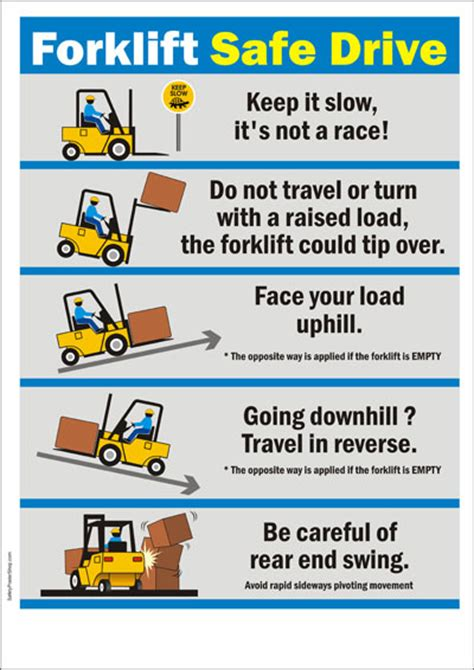 Bathroom Design Tips forklift safety poster forklfit safe drive safety
