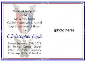 eagle scout court of honor invitation by bluegrasswhimsy