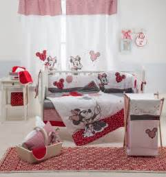 Minnie Mouse Crib Bedding Sets Baby Bedding Sets Minnie Mouse 4 Crib Bedding Set Baby Nursery Bedding