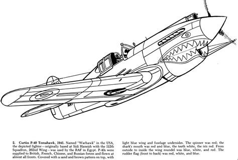 World War 2 Planes Coloring Pages free coloring pages of ww2 drawings