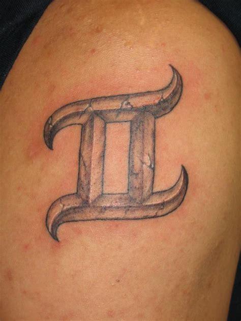 gemini horoscope tattoo designs gemini tattoos inkdoneright