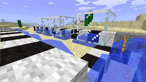 minecraft boat road picture guide boat road survival mode minecraft