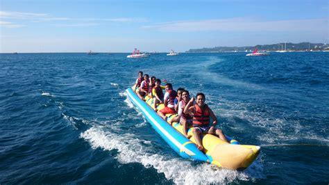 banana boat resort water sports subiza beach resort