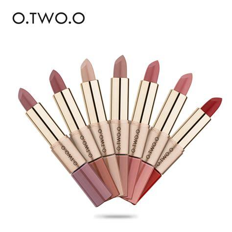 Lipstick Lip Gloss 6 2 In1 Matte o two o 12pcs lot 2 in 1 new matte lipstick makeup waterproof lasting lip gloss liquid
