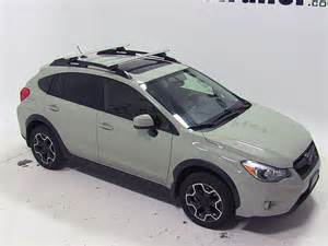 Subaru Crosstrek Roof Rack Thule Roof Rack For Subaru Xv Crosstrek 2014 Etrailer