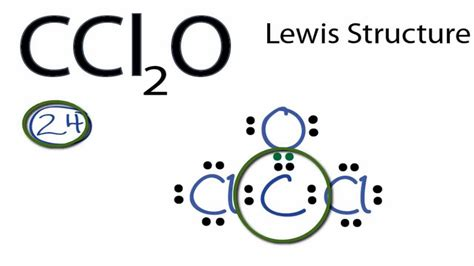 what is a lewis dot diagram ccl2o lewis structure how to draw the lewis structure for