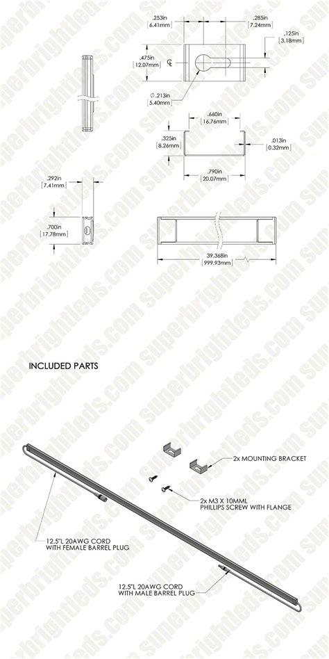 low profile surface mount light fixtures aluminum led light bar fixture low profile surface mount