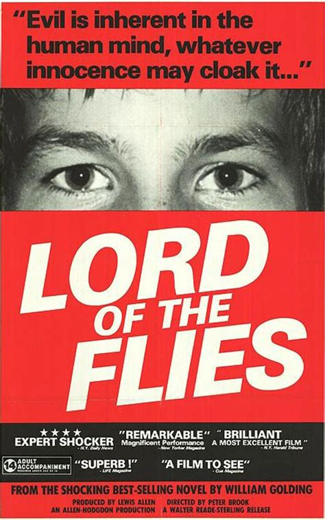 theme of lord of the flies movie lord of the flies 1963 movie poster 2 scifi movies