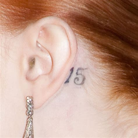 letter j tattoo behind ear evan rachel wood s 4 tattoos meanings steal her style