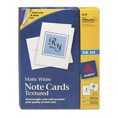 inkjet printable note cards printer