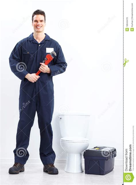 Plumbers Nearby Plumber Stock Photo Image 18644470