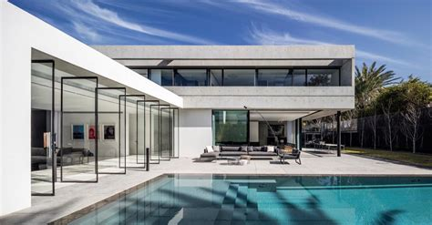 modern home design blog pitsou kedem architects designed the s house a concrete