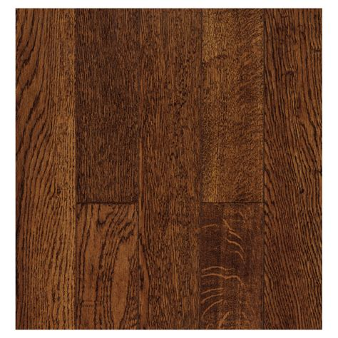 shop bruce 5 in w x 59 in l oak solid hardwood flooring at lowes com