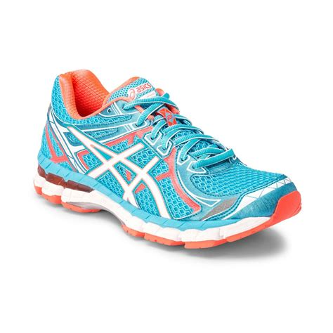 womens asics sneakers asics gt 2000 2 womens running shoes light blue orange