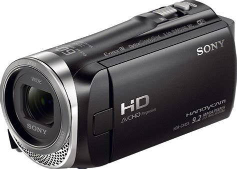 Memory Handycam Sony Sony Handycam Cx455 8gb Flash Memory Camcorder Black Hdrcx455 B Best Buy