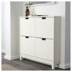 Shoe Storage Cabinet Ikea St 196 Ll Shoe Cabinet With 4 Compartments White 96x90 Cm Ikea