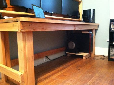 X Desk Plans