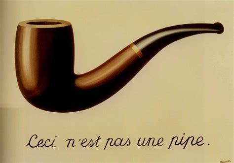 cuadro de magritte esto no es una pipa de ren 233 magritte tuitearte