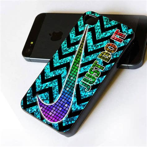 Iphone 4 4s Nike Sea Hardcas nike just do it bling chevron print iphone print on cover iphone 4 iphone