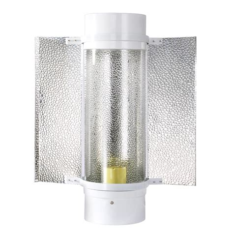 Grow Tent Light Reflector Hoods Air Cooled Tube For 250 Light Reflector